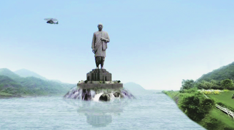scrap iorn used for Statue of Unity